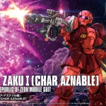 HG 1/144 MS-05 Zaku I (Char's Custom)