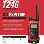 ราคาชุดคู่ MOTOROLA TALKABOUT T246 By Motorola Solutions ใช้ได้เลยไม่ต้องขอใบอนุญาติ