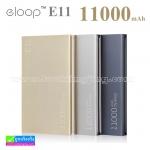 ELOOP E11 Power bank แบตสำรอง 11000 mAh ราคา 439 บาท ปกดิ 1,150 บาท