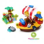 ตัวต่อเลโก้ เรือโจรสลัดขุมทรัพย์ Pirate 60 ชิ้น