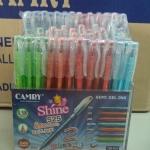ปากกา semi-gel ยี่ห้อ camy 0.38 มม แพ็ค 120 ด้าม