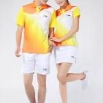 สินค้าพรีออเดอร์!!! เสื้อแบดมินตันสำหรับชาย-หญฺิง Li-Ning คอปกโปโล กางเกง กระโปรง