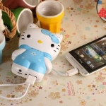 Powerbank Hello Kitty ความจุ 8800 Mah