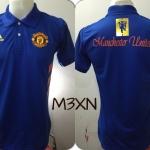 เสื้อโปโล แมนเชสเตอร์ ยูไนเต็ด ปี2015 สีน้ำเงิน M3XN