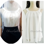 "FINAL SALE OVER 40%  ""Pleat Please Me Top"""