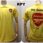 เสื้อโปโล อาร์เซนอล สีเหลือง RPY