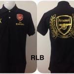 เสื้อโปโล อาร์เซนอล สีดำ RLB
