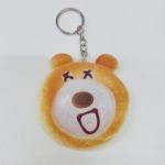 พวงกุญแจสกุชชี่หมี แพ็คโหล
