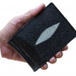 money clip มาดมั่นมังมี ด้วยกระเป๋าสตางคกระเป๋าสตางค์ปลากระเบน แบบ 1 มุข