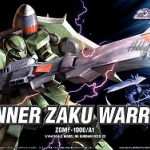 HG 1/144 GUNNER ZAKU WARRIOR