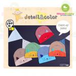 หมวกเด็กผ้ายืดรูปหน้าแมว