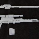 M.S.G Modeling Support Goods Weapon Unit MW09 Naginata Sniper Rifle