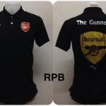 เสื้อโปโล อาร์เซนอล สีดำ RPB