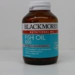 Blackmores Fish Oil 1000 mg 80 แคปซูล