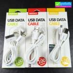 สายชาร์จ REMAX USB Data Cable แท้ 100%