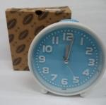 นาฬิกาปลุกมีไฟ สีฟ้า  รหัส 1314