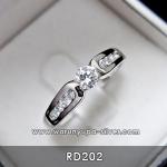 แหวนเพชรหญิง 25 ตัง RD202