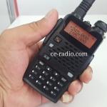 IC-UV91T เครื่องดำ 2ความถี่ VHF/CB