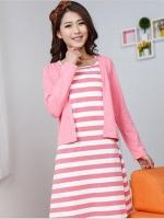 CH00274(จีน)เดรสให้ แบบมีเสื้อคลุมเย็บติดกัน ผ้าเนื้อดี คุณภาพเทียบเท่างานเกาหลี เปิดให้นมง่าย สะดวกมากๆไม่โป๊ค่า