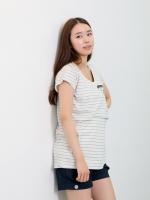 (เกาหลี)  เสื้อให้นมสไตล์สปอร์ต เท่ๆ ให้นมง่าย แบบเจาะช่องด้านใน แต่งซิปที่กระเป๋าหน้าอก งานคุณภาพมากๆ จากแบรนด์ Dorothy