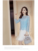 เสื้อผ้าแฟชั่นเกาหลี set เสื้อ และกระโปรงสวยหวาน