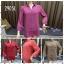 (2905L) เสื้อเชิ้ตชีฟอง thumbnail 1