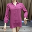 (2905L) เสื้อเชิ้ตชีฟอง thumbnail 5