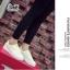 รองเท้าผ้าใบ Fashion แต่งรูปยิ้มตรงลิ้นรองเท้าและด้านหลัง เก๋ๆ thumbnail 8