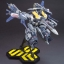 1/72 Macross Frontier VF-25S Armored Messiah Valkyrie Ozma Custom Plastic Model thumbnail 11