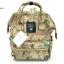 กระเป๋าเป้ผ้าแคนวาสเนื้อหนา สไตล์ Anello (สีลายทหารอ่อน) thumbnail 3