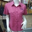 ( H 1188 ) เสื้อเชิ้ตหญิงแขนสั้น thumbnail 4