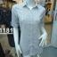 H1181 เสื้อเชิ้ตแฟชั่นผ้า cotton 100% thumbnail 4