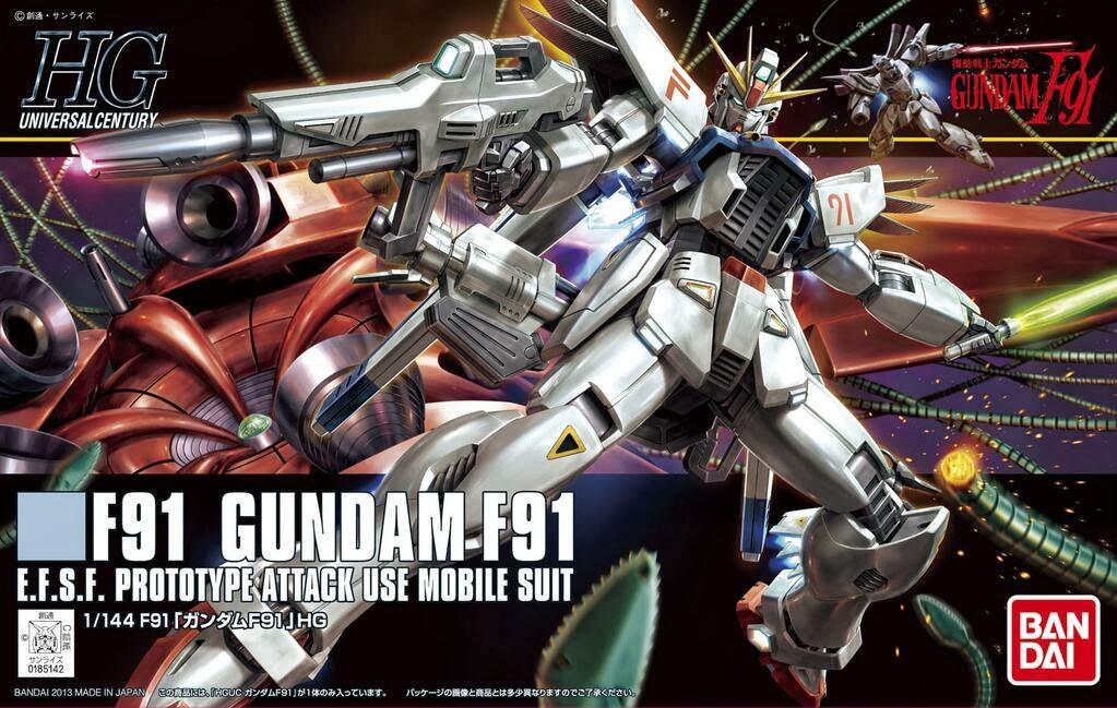 HGUC 1/144 Gundam F91