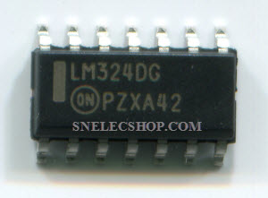 IC : LM324 SMD