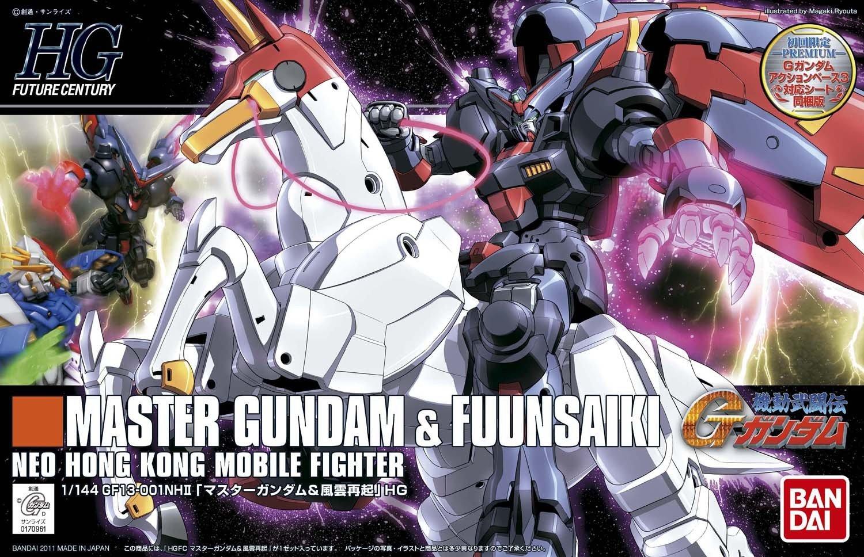 HGFC 1/144 Master Gundam & Fuunsaiki