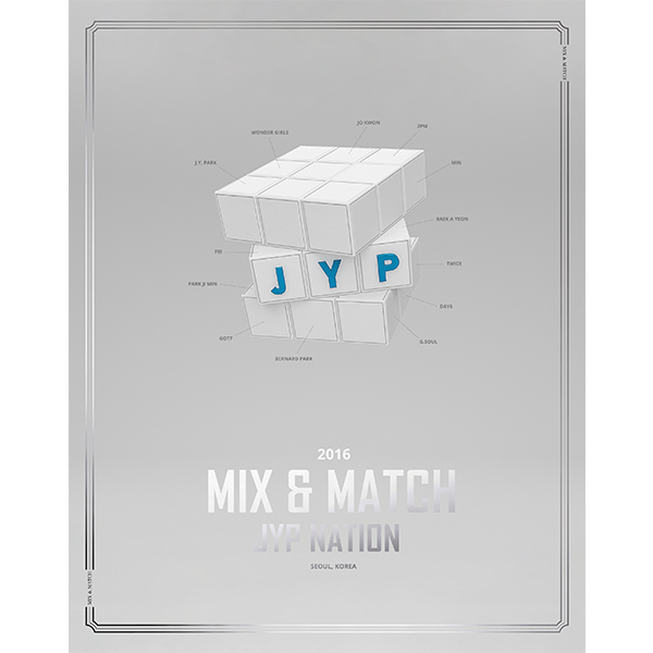 Photobook JYP NATION - JYP NATION KOREA 2016 MIX & MATCH