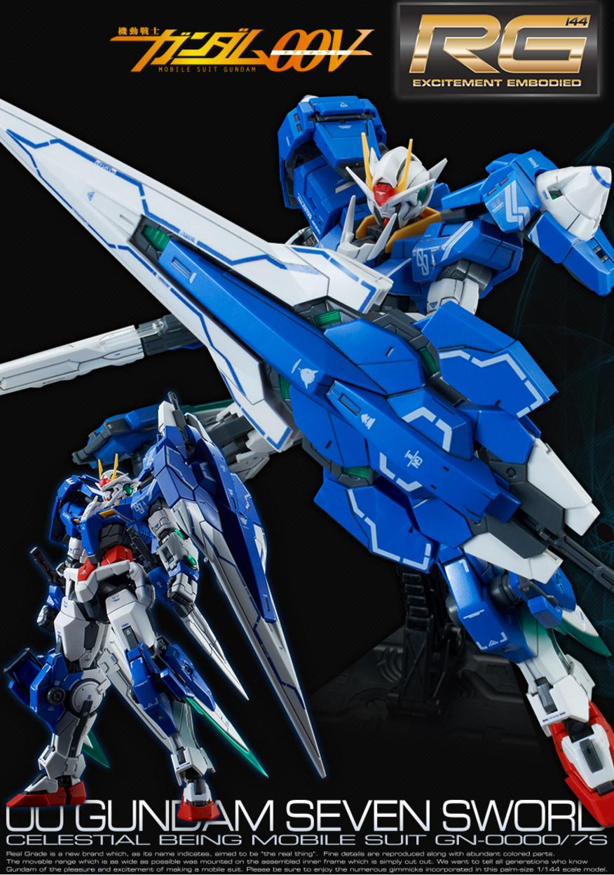 [Expo] RG 1/144 00 Gundam Seven Sword