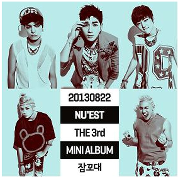 NU`EST - Mini Album Vol.3 [Sleep Talking] [+1p Photo Card] + Poster in Tube