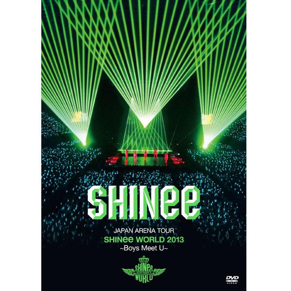 [DVD] สินค้า SHINee - SHINee JAPAN ARENA TOUR SHINee WORLD 2013 [Boys Meet U] (Normal Edition/2DVD)