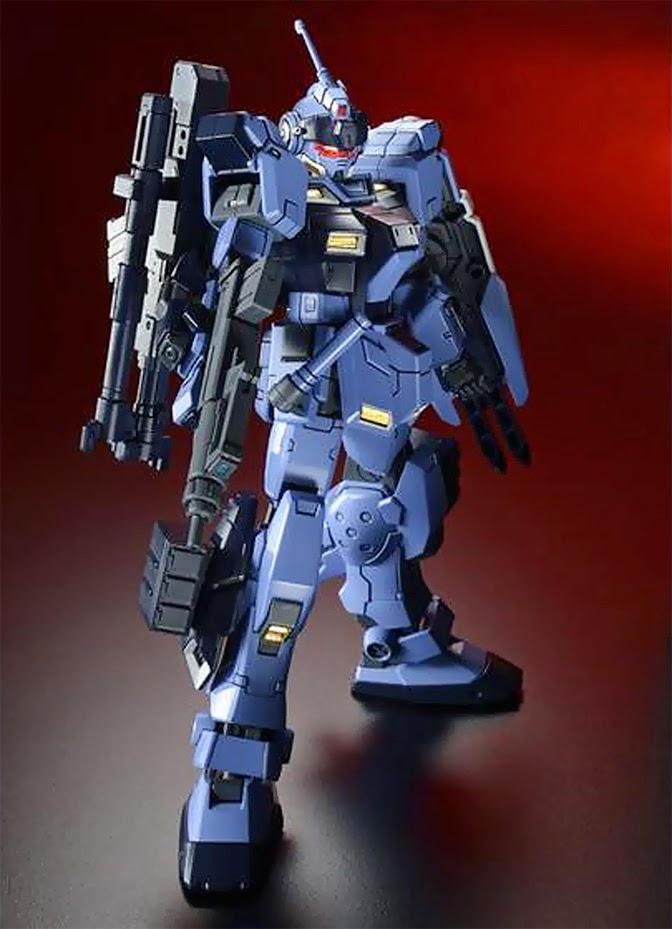 [P-Bandai] HGUC 1/144 RX-80PR Pale Rider [Heavy Equipment Ver]