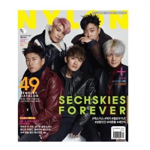 นิตยสาร NYLON 2016-12 แบบ A หน้าปก SECHSKIES ด้านในมี SEOHYUN (SNSD)