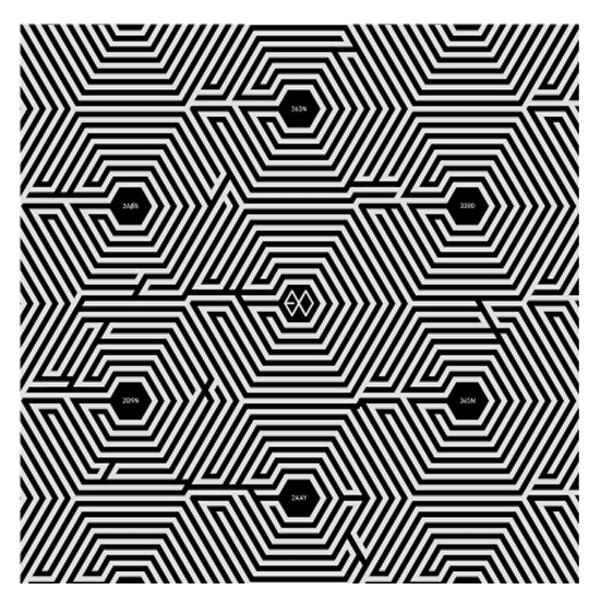 EXO-K - Mini Album Vol.2 [Overdose] + Poster in Tube