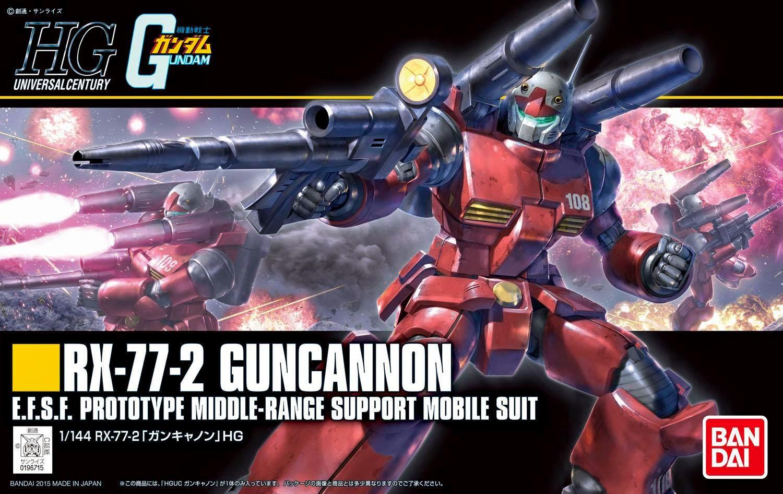 HGUC 1/144 Guncannon [Revive Ver.]