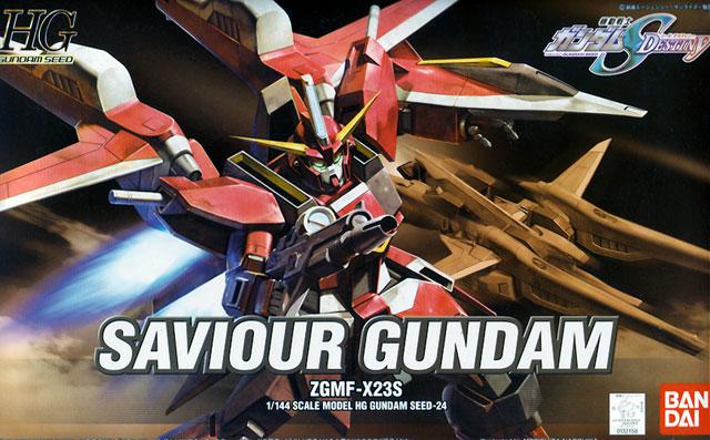 HG 1/144 Saviour Gundam