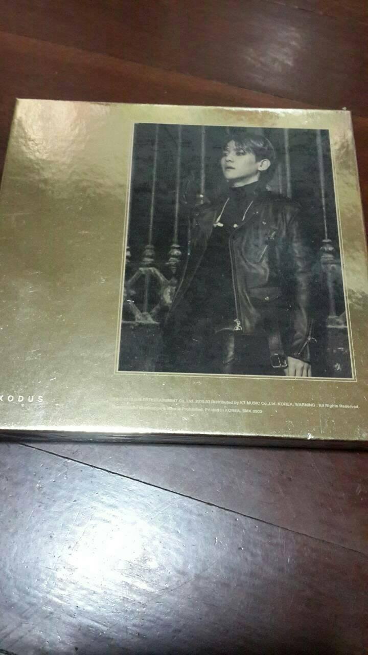 EXO - Album Vol.2 EXODUS ระบุปก แบคฮยอน Korean Ver. + poster พร้อมส่งค่ะ
