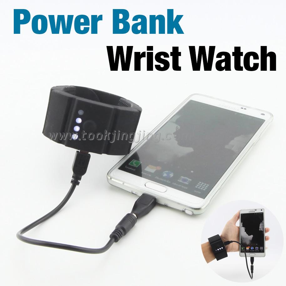 Wrist Watch Power Bank 1500 mAh ราคา 290 บาท ปกติ 1,630 บาท