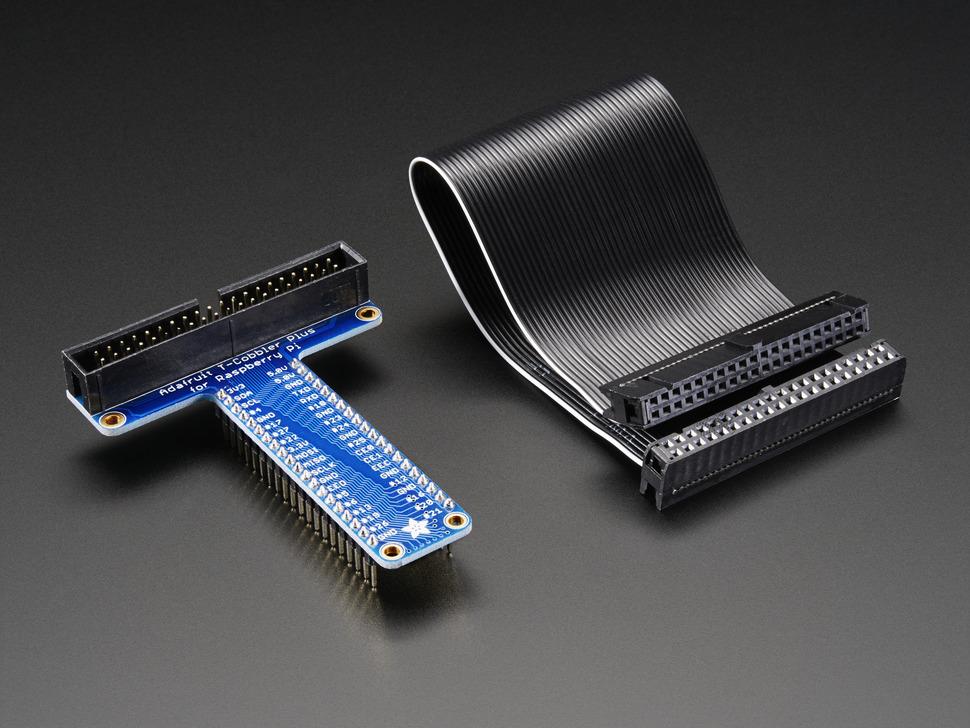 T-Cobbler Plus - GPIO Breakout for RPi A+ / B+ / Pi 2 Pi3 (Adafruit แท้)