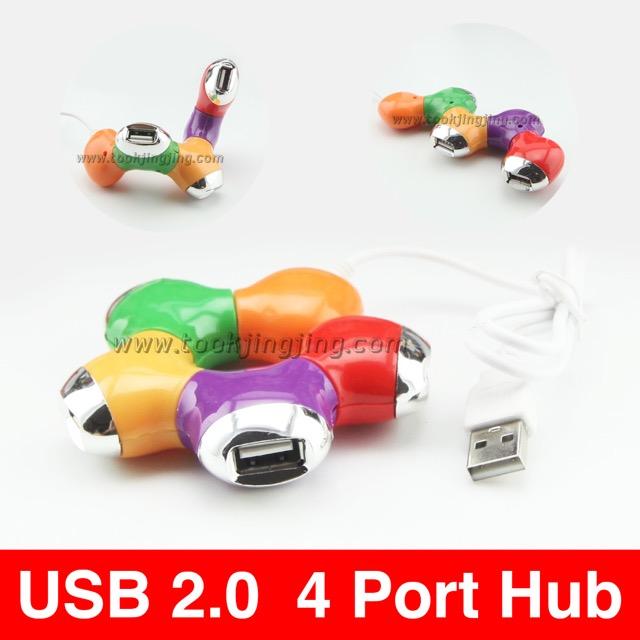 โดนัท USB 2.0 / 4 Port Hub ราคา 85 บาท ปกติ 210 บาท