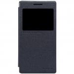 nillkinแท้ เคสฝาพับ Lenovo P70 รุ่น Sparkle Leather Case สีดำ
