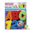 Munchkin ของเล่นลอยน้ำตัวอักษร ABC และ ตัวเลข